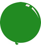 "36"" Standard Forest Green Decomex Latex Balloons (5 Per Bag)"