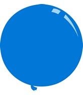 """36"""" Standard Blue Decomex Latex Balloons (5 Per Bag)"""