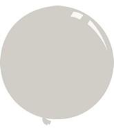 """36"""" Deco Grey Decomex Latex Balloons (5 Per Bag)"""