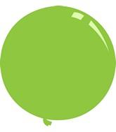 """36"""" Deco Lime Green Decomex Latex Balloons (5 Per Bag)"""