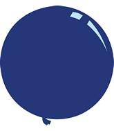"""36"""" Deco Navy Blue Decomex Latex Balloons (5 Per Bag)"""