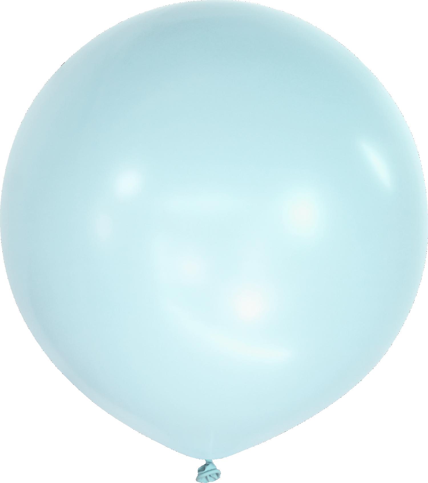 """36"""" Kalisan Latex Balloons Pastel Matte Macaroon Baby Blue (2 Per Bag)"""