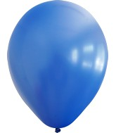 "12"" Kalisan Latex Balloons Standard Dark Blue (50 Per Bag)"