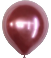 "18"" Kalisan Latex Balloons Mirror Pink (25 Per Bag)"
