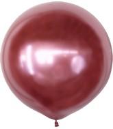 "36"" Kalisan Latex Balloons Mirror Pink (2 Per Bag)"