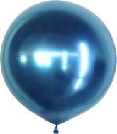 "36"" Kalisan Latex Balloons Mirror Blue (2 Per Bag)"