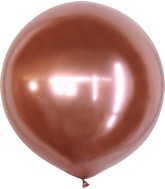 "36"" Kalisan Latex Balloons Mirror Rose Gold (2 Per Bag)"