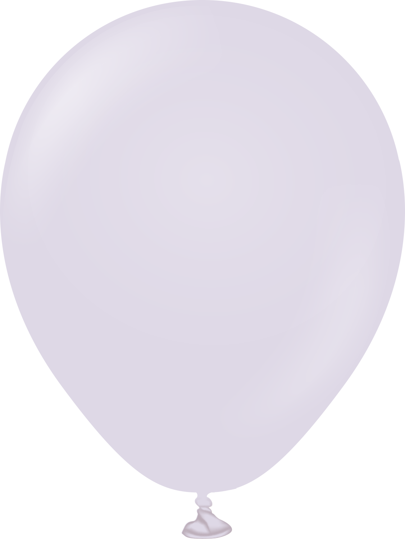 """5"""" Kalisan Latex Balloons Pastel Matte Macaroon Lavender (50 Per Bag)"""