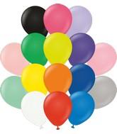 "5"" Kalisan Latex Balloons Standard Assortment (50 Per Bag)"