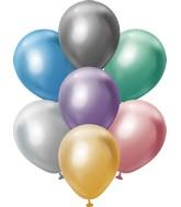 "5"" Kalisan Latex Balloons Mirror Assorted (50 Per Bag)"
