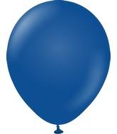 "12"" Kalisan Latex Balloons Standard Dark Blue (50 Per Bag)"