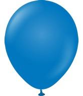 "18"" Kalisan Latex Balloons Standard Blue (25 Per Bag)"