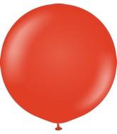 "24"" Kalisan Latex Balloons Standard Red (5 Per Bag)"