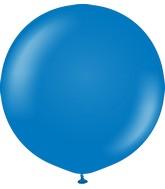 "24"" Kalisan Latex Balloons Standard Blue (5 Per Bag)"