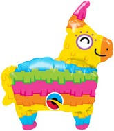 "14"" Airfill Only Shape Rainbow Pinata Foil Balloon"