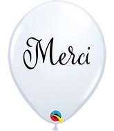 "11"" Latex Balloons White (50 Per Bag) Simplement Merci"