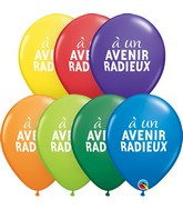 "11"" Latex Balloons Carnival Assorted (50 Per Bag )Simplement A Un Avenir Radieux Assorted"