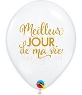 "11"" Latex Balloons Diamond Clear (50 Per Bag) Simplement Meilleur Jour"