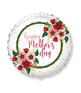 """18"""" Mother's Day Flowers Foil Balloon"""