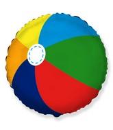 """18"""" Beach Ball Foil Balloon"""