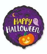 """18"""" Happy Halloween Foil Balloon"""