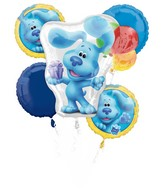 Bouquet Blue's Clues Foil Balloon