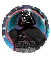 "18"" Star Wars Galaxy Darth Vader Foil Balloon"