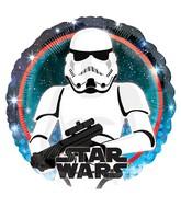 "18"" Star Wars Galaxy Stormtrooper Foil Balloon"