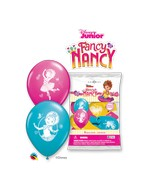 """12"""" Latex Balloons (6 Per Bag) Special Assortment Fancy Nancy"""