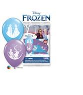 """12"""" Latex Balloons (6 Per Bag) Special Assortment Frozen Ii"""