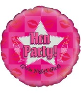 """18"""" Hen Party Holographic Oaktree Foil Balloon"""