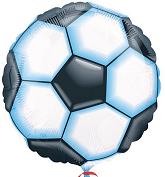 """18"""" Valueline Soccer Balloon Packaged"""