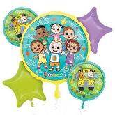 Cocomelon Balloons Mylar Balloons