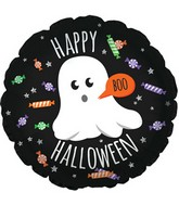 """17"""" Ghostly Candy Foil Balloon"""