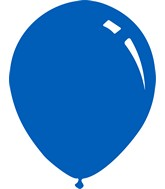 """5"""" Deco Royal Blue Decomex Latex Balloons (100 Per Bag)"""