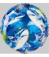 "18"" Shark Foil Balloon"