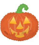 "22"" Happy Pumpkin Foil Balloon"