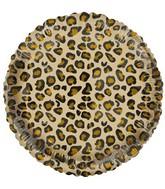 "18"" Catty Simba Leopard Foil Balloon"