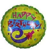 "4"" Airfill Happy Birthday Horn"