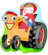 """28"""" Farm Tractor Shape Mylar Balloon"""