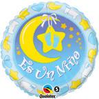 """18"""" Es Un Nino Nursery Spanish Balloon"""