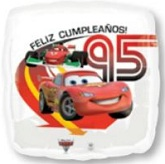 "18"" Disney Cars Feliz Cumpleanos!"