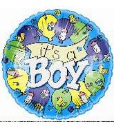 "4"" Airfill It's a Boy Banner"
