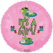 """18"""" Froggy Fun Girl It's a Girl"""