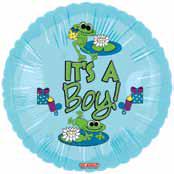 """18"""" Froggy Fun Boy It's a Boy"""