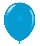 "24"" Blue Latex Balloons 5 Count"
