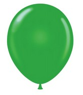 "24"" Green Latex Balloons 5 Count"