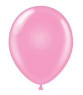 "24""  Pink Latex Balloons 5 Count"