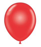 "24"" Red Latex Balloons 5 Count"