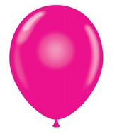 "24"" Magenta Latex Balloons 5 Count"